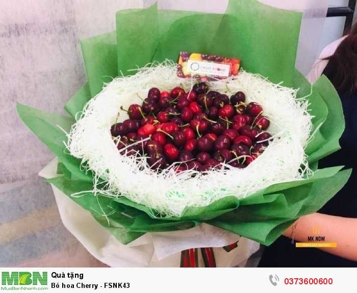 Bó hoa quả Cherry2