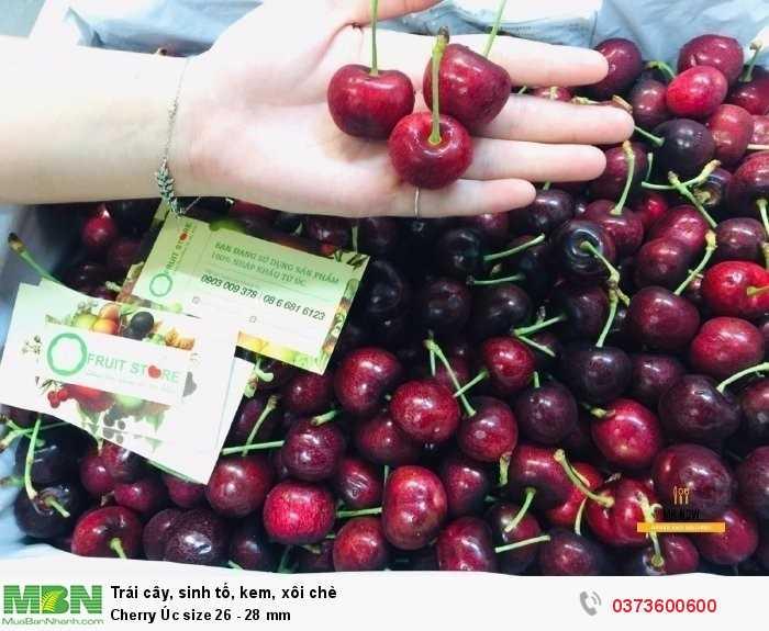 Cherry Úc size 26 - 28 mm0