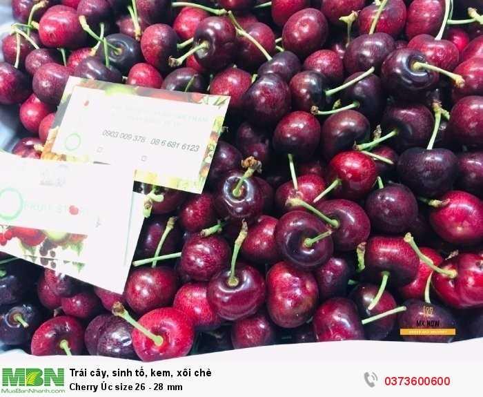 Shop bán Cherry Úc size 26 - 28 mm2