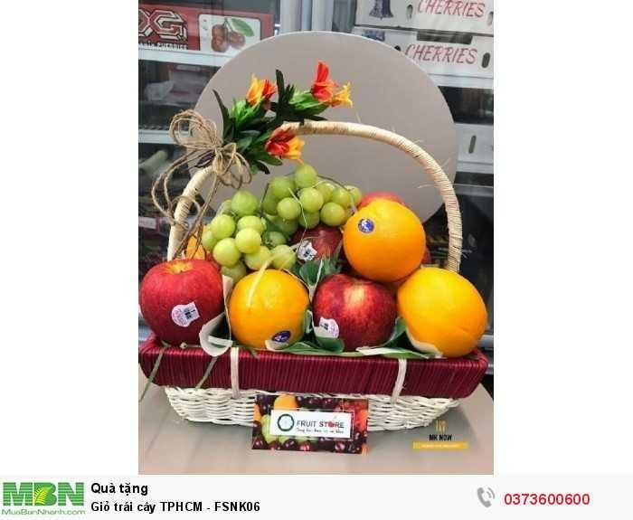 Giỏ trái cây TPHCM - FSNK061