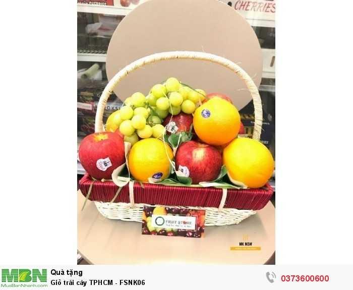 Giỏ trái cây TPHCM - FSNK060