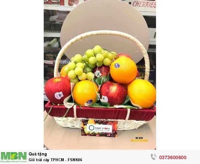 Giỏ trái cây TPHCM - FSNK062