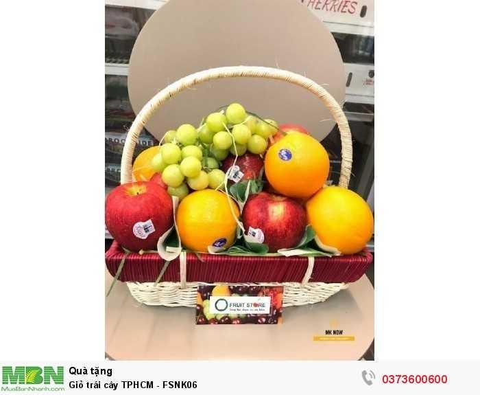 Giỏ trái cây TPHCM - FSNK063