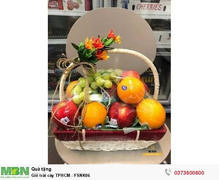 Giỏ trái cây TPHCM - FSNK064