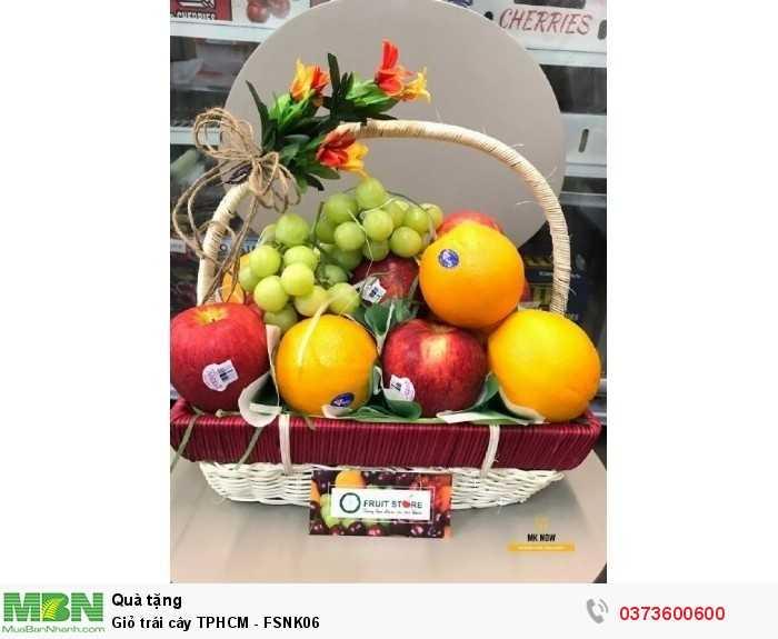 Giỏ trái cây TPHCM - FSNK065
