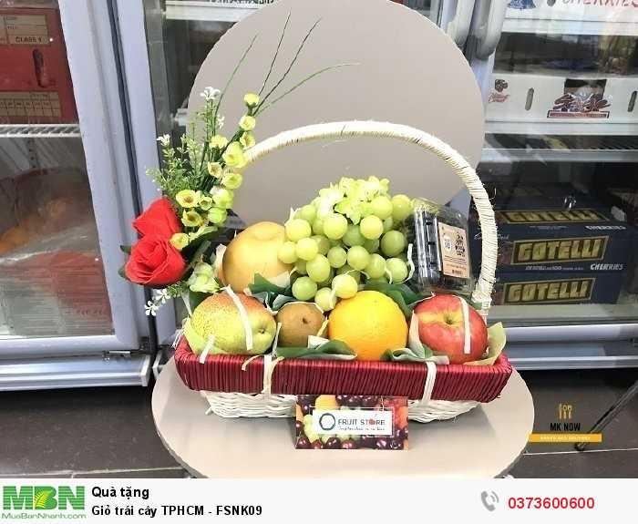 Đặt giỏ trái cây làm quà tặng
