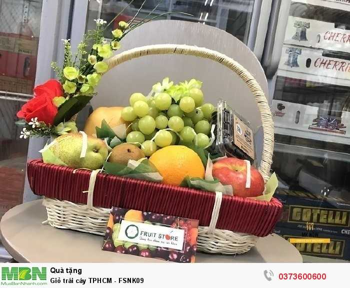 Giỏ trái cây quà tặng - trái cây nhập khẩu cao cấp
