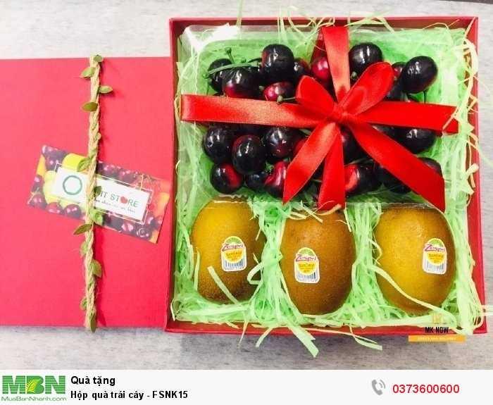 Quà tặng sinh nhật tốt cho sức khỏe - hộp trái cây quà tặng1
