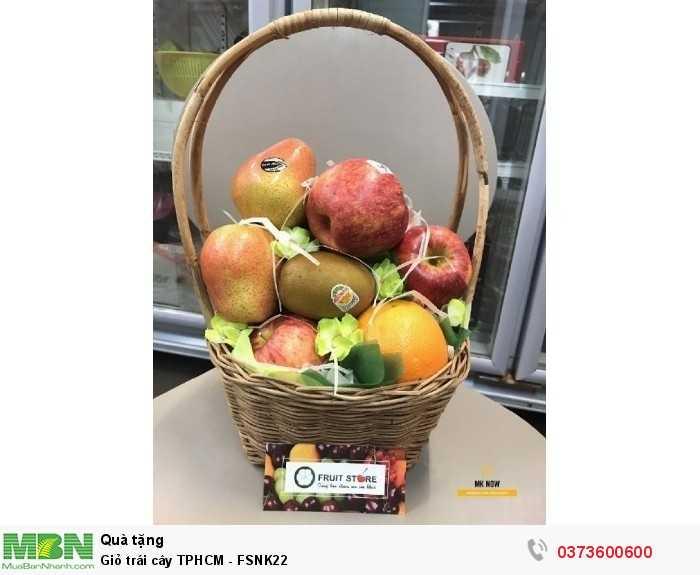 Giỏ trái cây TPHCM - FSNK220