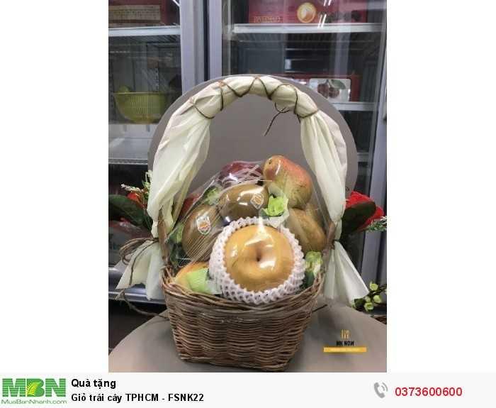 Giỏ trái cây TPHCM - FSNK221
