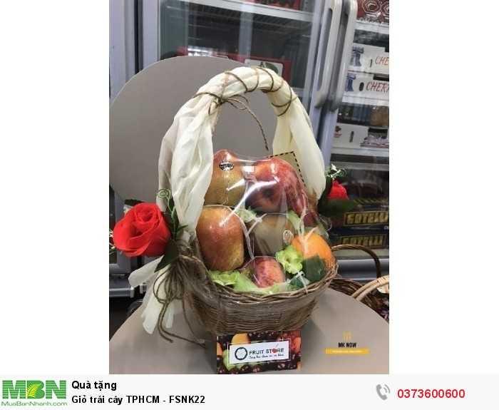 Giỏ trái cây TPHCM - FSNK222