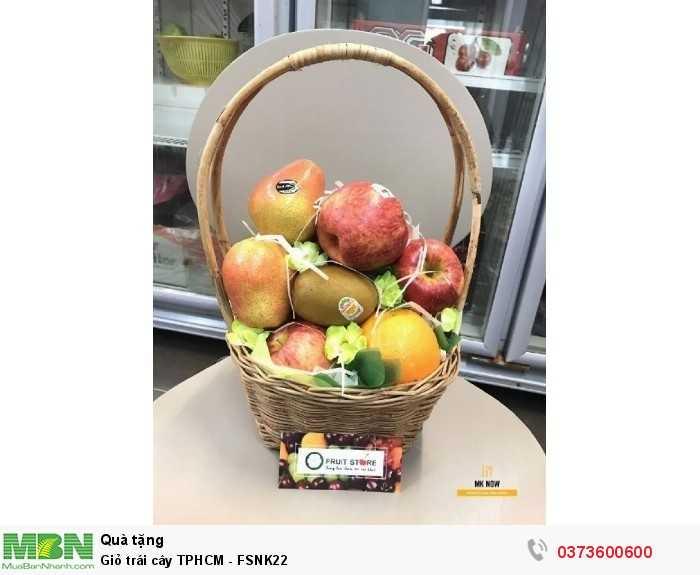 Giỏ trái cây TPHCM - FSNK223