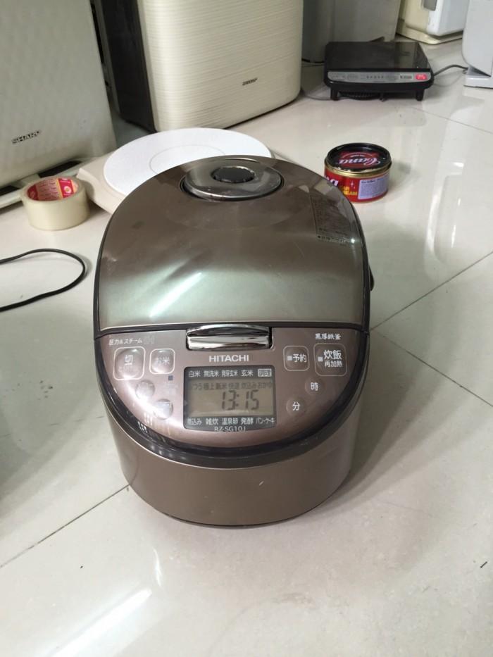 Nồi cơm điện Hitachi RZ-SG10J 1 lít cao tần áp suất nội địa nhật.