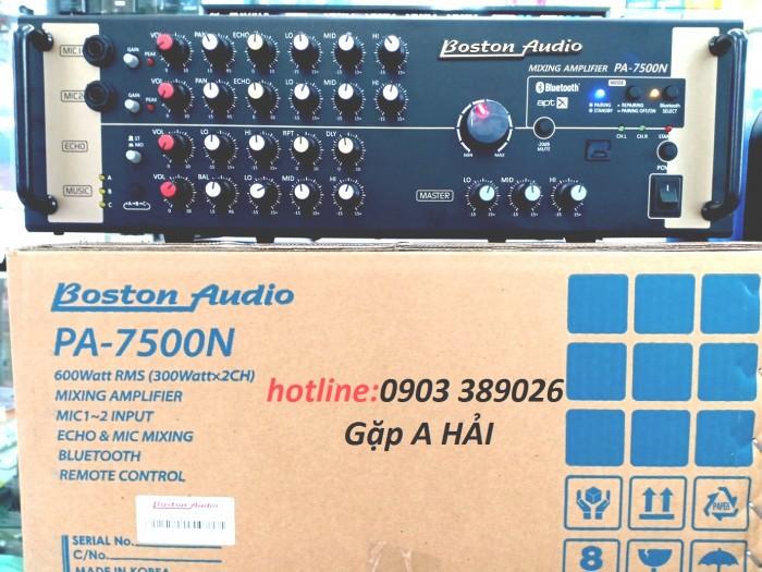Amply Bluetooth Boston Audio PA-7500N sản phẩm cao cấp nhập khẩu từ Hàn Quốc4