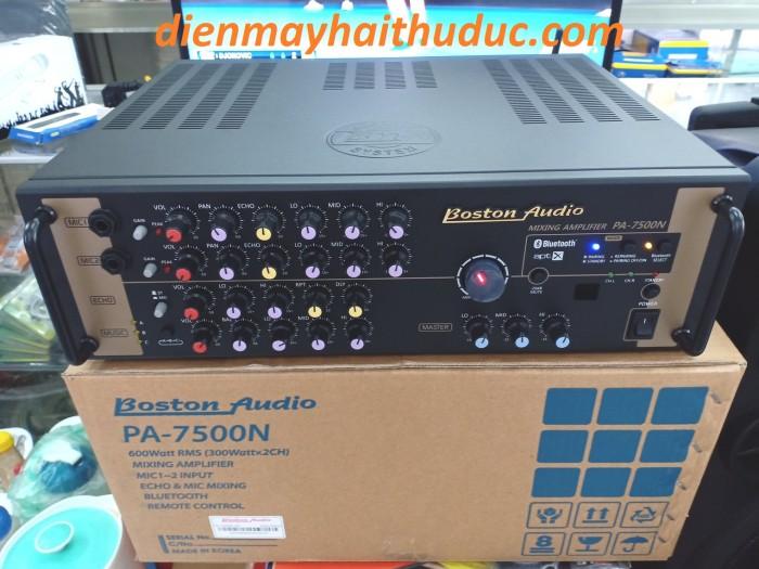 Amply Bluetooth Boston Audio PA-7500N có Bluetooth và remote5