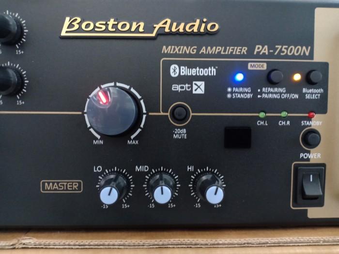 Amply Bluetooth Boston Audio PA-7500N kiểu dáng hiện đại, sang trọng1
