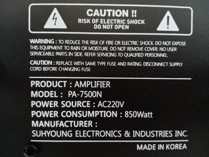 Amply Bluetooth Boston Audio PA-7500N công suất đến 600W, dư sức chơi với 4 loa2