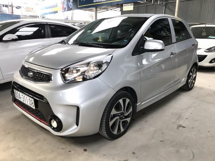 Bán Kia Morning Si 1.25AT màu bạc số tự động sản xuất cuối 2016 biển Đồng Nai đi 20.000km