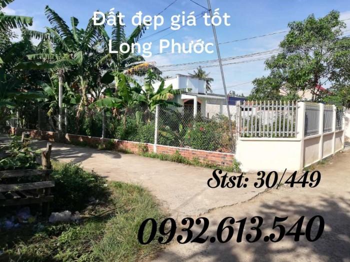Cần bán lô góc 2 mt, sổ hồng riêng thổ cư Long Phước Long Thành Đồng Nai