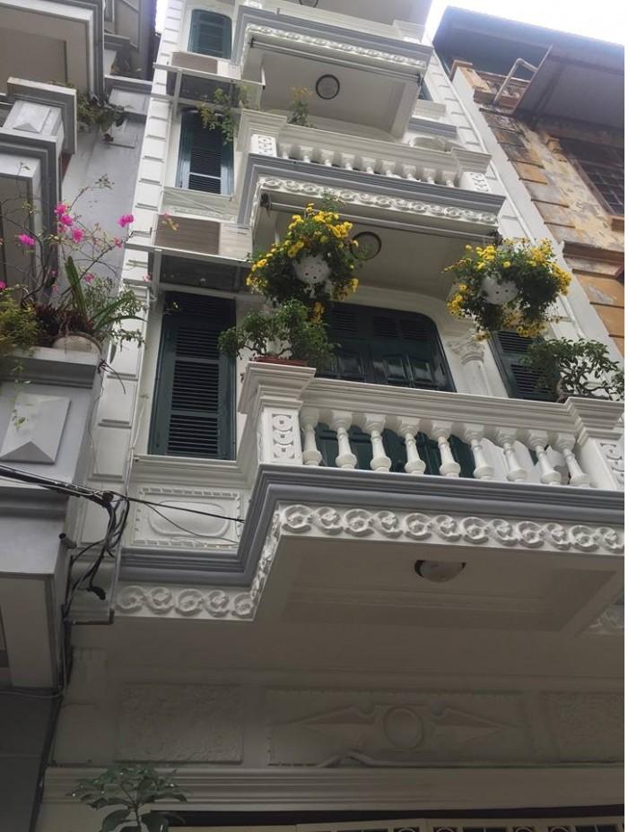 Bán GẤP nhà phố Nguyễn Đức Cảnh , kinh doanh tốt mặt tiền rộng, 50m2- 5tầng
