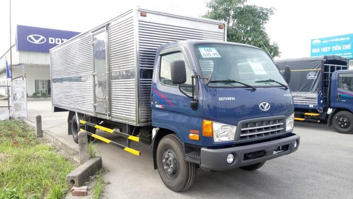 Xe tải Đô Thành 120sl thùng 6m3 0