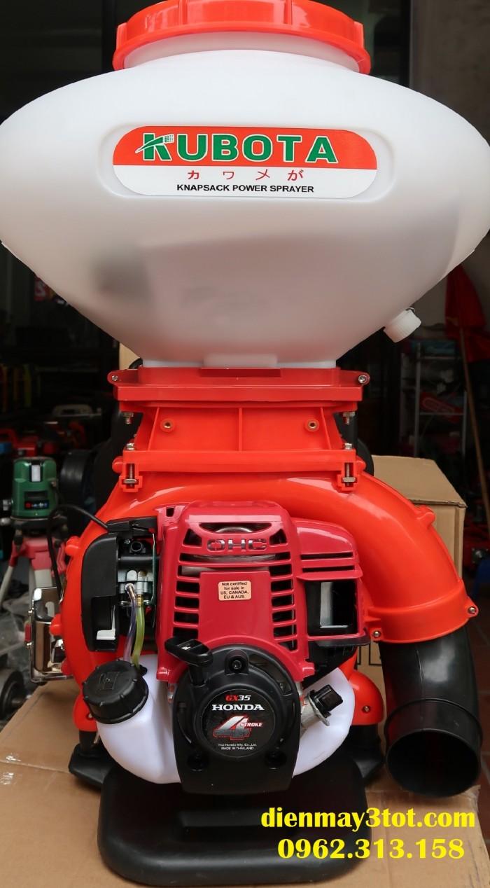 Máy phun vôi bột cho cây trồng 4 thì Kubota Honda GX351