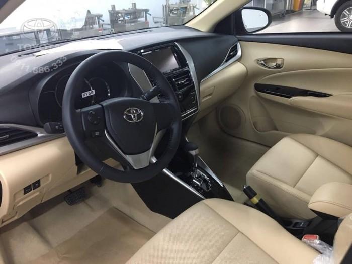 Bán Toyota Vios 1.5G màu đỏ, xe giao ngay, giá Tốt nhất Miền Bắc, Hỗ trợ trả góp 80% 1