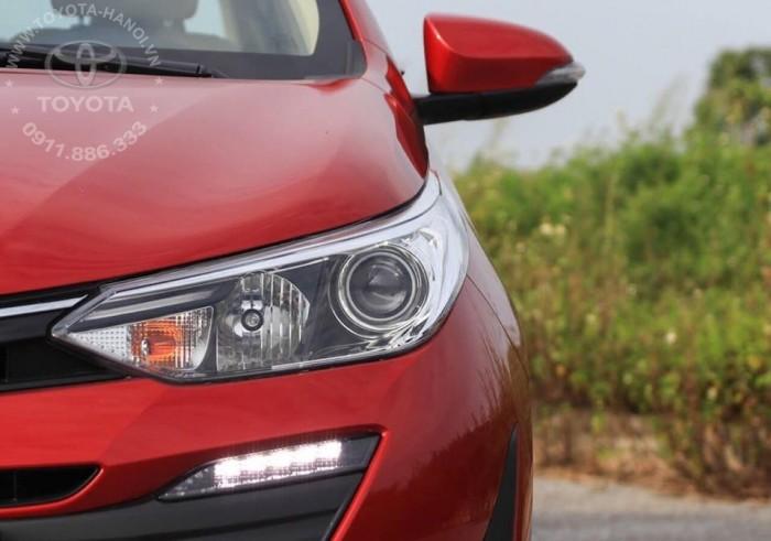 Bán Toyota Vios 1.5G màu đỏ, xe giao ngay, giá Tốt nhất Miền Bắc, Hỗ trợ trả góp 80% 4