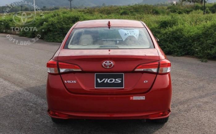 Bán Toyota Vios 1.5G màu đỏ, xe giao ngay, giá Tốt nhất Miền Bắc, Hỗ trợ trả góp 80% 3