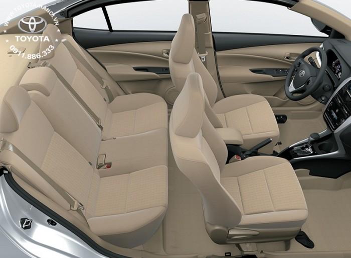 Bán Toyota Vios 1.5G màu đỏ, xe giao ngay, giá Tốt nhất Miền Bắc, Hỗ trợ trả góp 80% 6