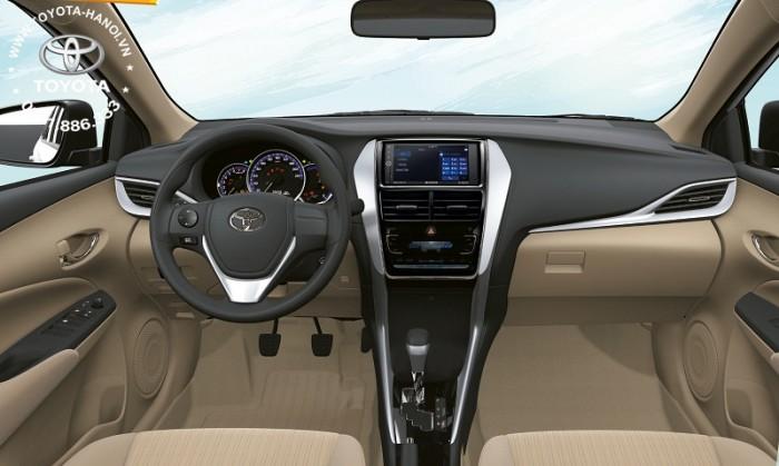 Bán Toyota Vios 1.5G màu đỏ, xe giao ngay, giá Tốt nhất Miền Bắc, Hỗ trợ trả góp 80% 7