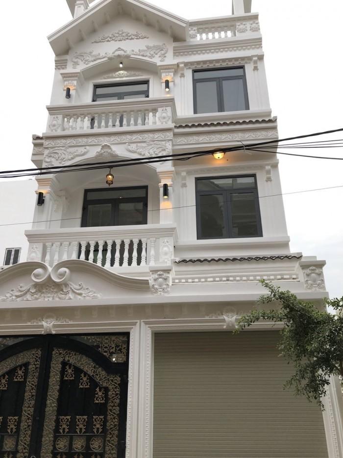 Bán nhà đường Huỳnh Tấn Phát, Thị trấn Nhà Bè. Tp.HCM. nhà 2 lầu, sân thượng, chuồng cu, DT 360m2