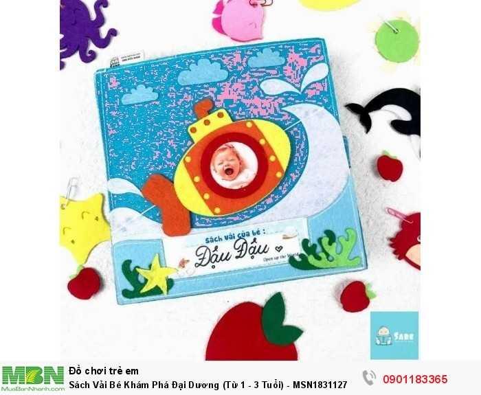 Sách Vải Bé Khám Phá Đại Dương (Từ 1 - 3 Tuổi) - MSN1831127