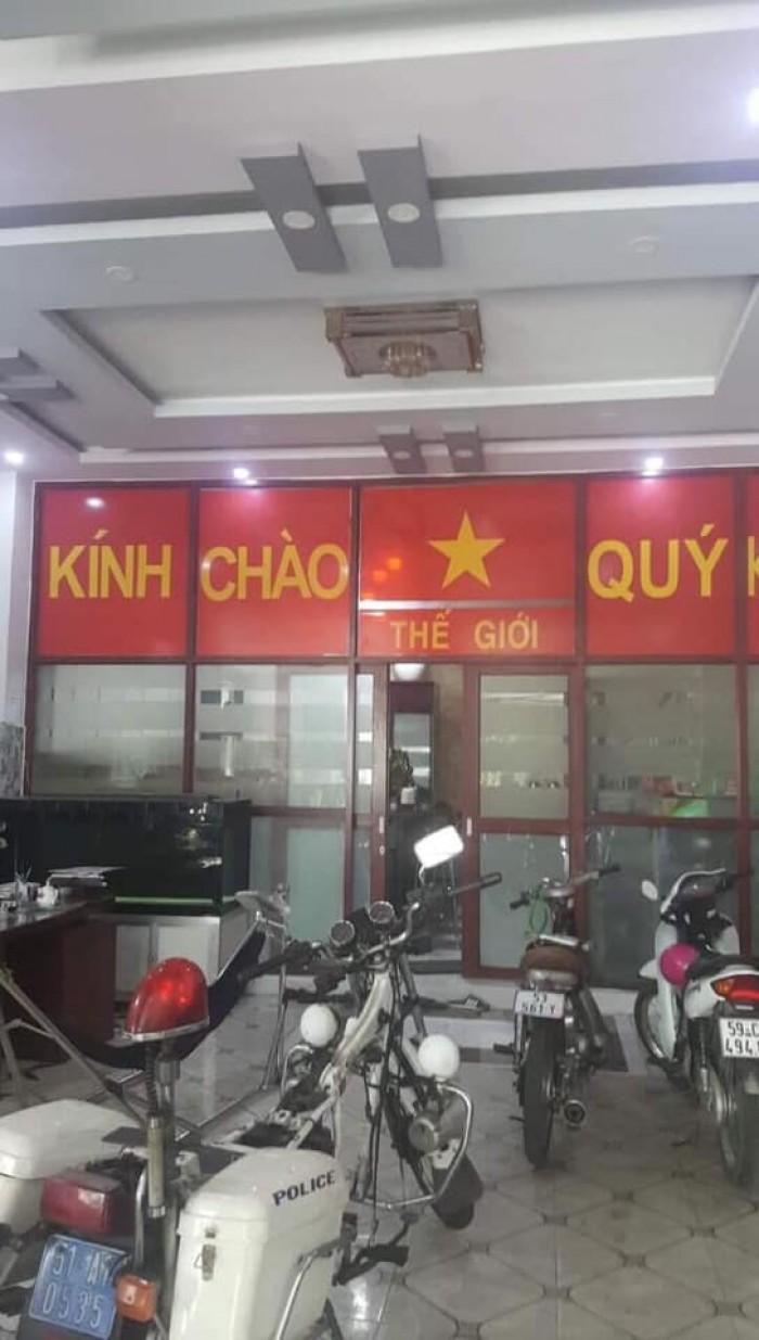 Bán nhà 2 mặt tiền đường đúc 3 tấm diện tích 9.7 m x 17 m quận Bình Tân