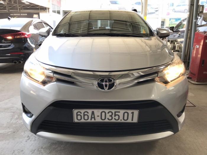 Bán Toyota VIOS E 1.5MT màu bạc số sàn sản xuất 2016 biển tỉnh đi 32000km