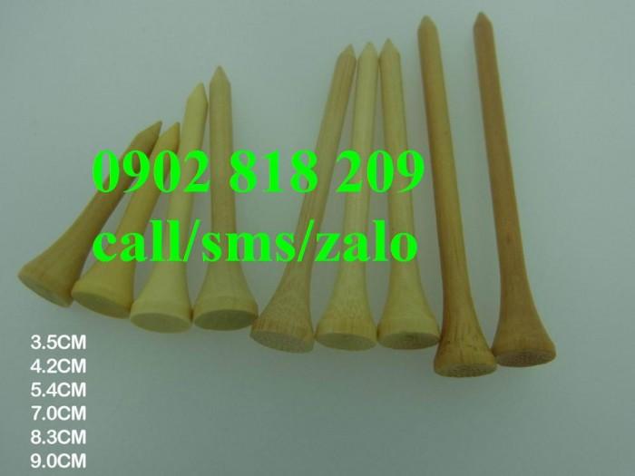Tee golf gỗ set 25 cái cao 70mm3