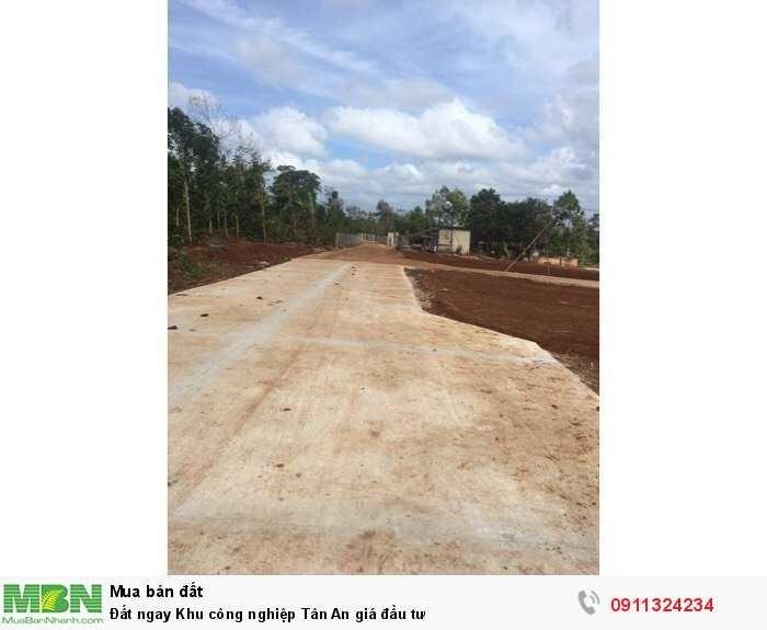 Đất ngay Khu công nghiệp Tân An giá đầu tư