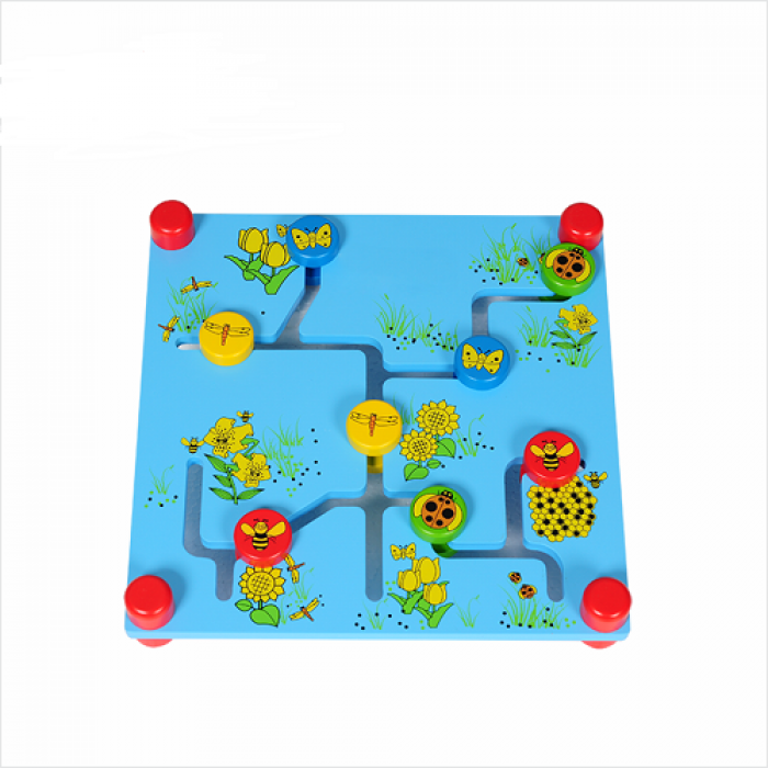 Trò chơi tìm đường mini - Trò chơi mê cung gỗ