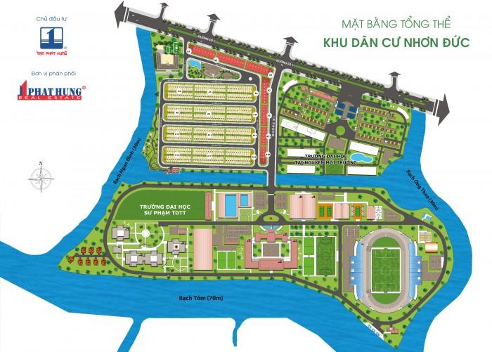 Liền kề GS Metro City, KDC Nhơn Đức giá chỉ 2 tỷ rẻ nhất Thị trường bao gồm Móng cọc