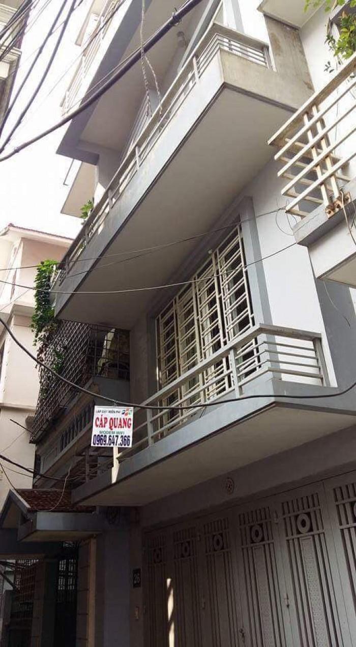 Bán nhà phố Khương Thượng - Đống Đa, DT 40m x 4 tầng, kinh doanh