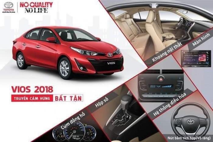 Toyota Hưng Yên Vios 2019 Giá Hấp Dẫn. Toyota Vios 2019 Giá Tốt Nhất.