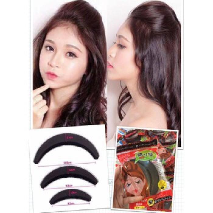 Bộ kẹp phồng mái chi tiết, cho bạn mái tóc cực xinh2