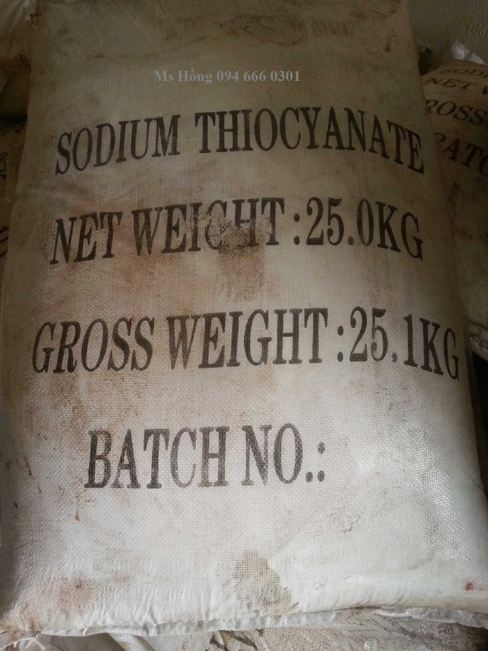 SODIUM THIOCYANATE0