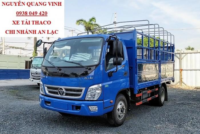 Thaco Ollin500 - Euro 4 - Mới nhất - Tải Trọng 5 Tấn - Động Cơ Weichai - Hổ Trợ Trả Góp