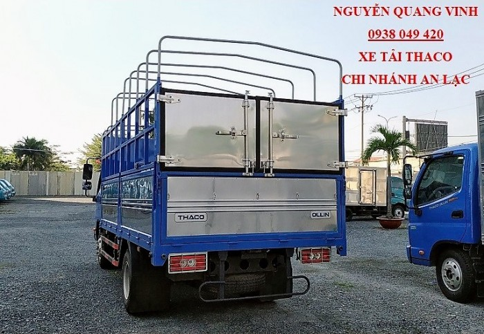 Thaco Ollin500 - Euro 4 - Mới nhất - Tải Trọng 5 Tấn - Động Cơ Weichai - Hổ Trợ Trả Góp 3