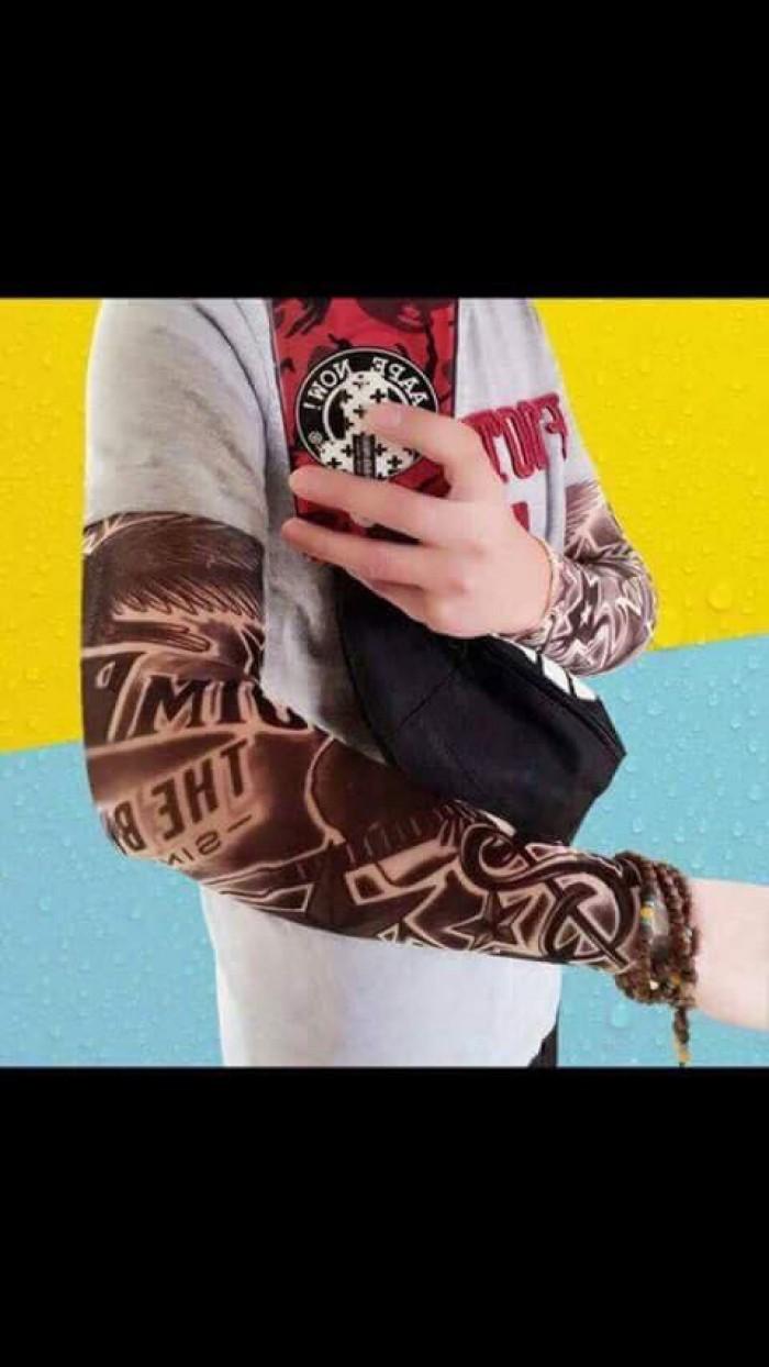 Găng tay chống nắng hình xăm độc đáo cá tính1