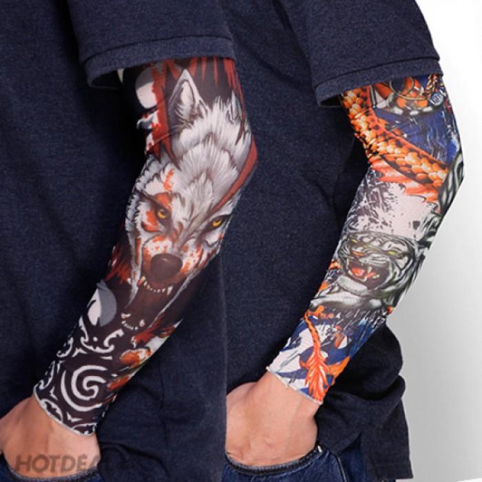 Găng tay chống nắng hình xăm độc đáo cá tính6