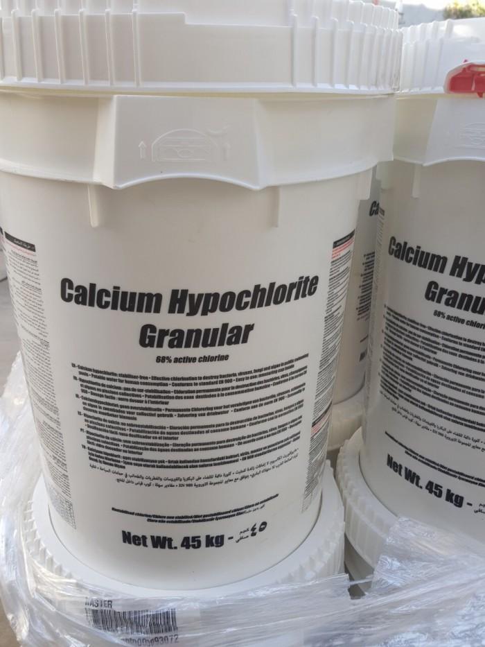 Chlorine Mỹ, clorine xử lý nước, calcium hypochlorite2