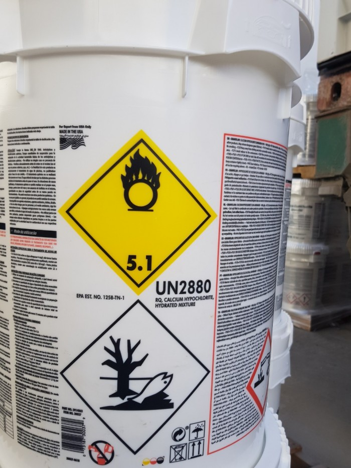 Chlorine Mỹ, clorine xử lý nước, calcium hypochlorite1