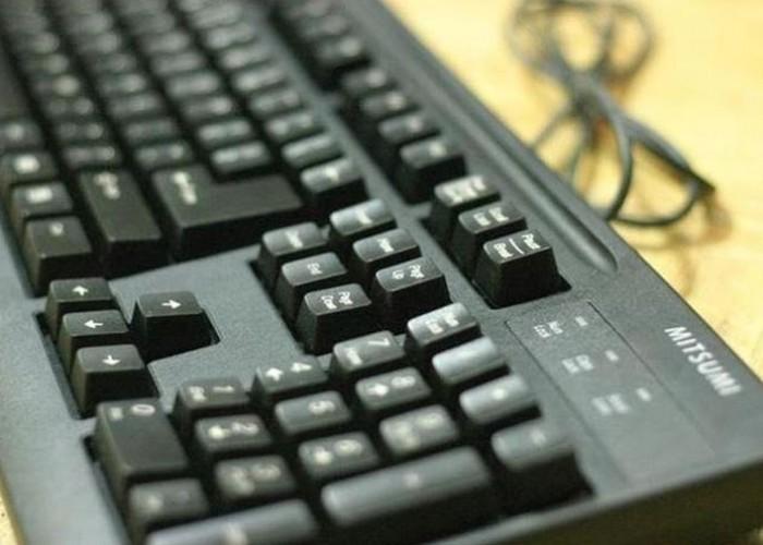 Bàn phím Mitsumi usb đen chính hãng tem Minh Thông1